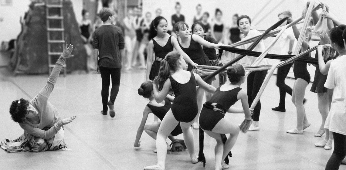 Utassy Ballet School - rehearsal