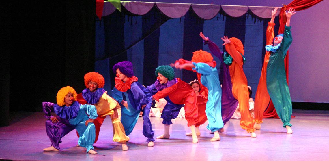 Utassy Ballet School - Clowns